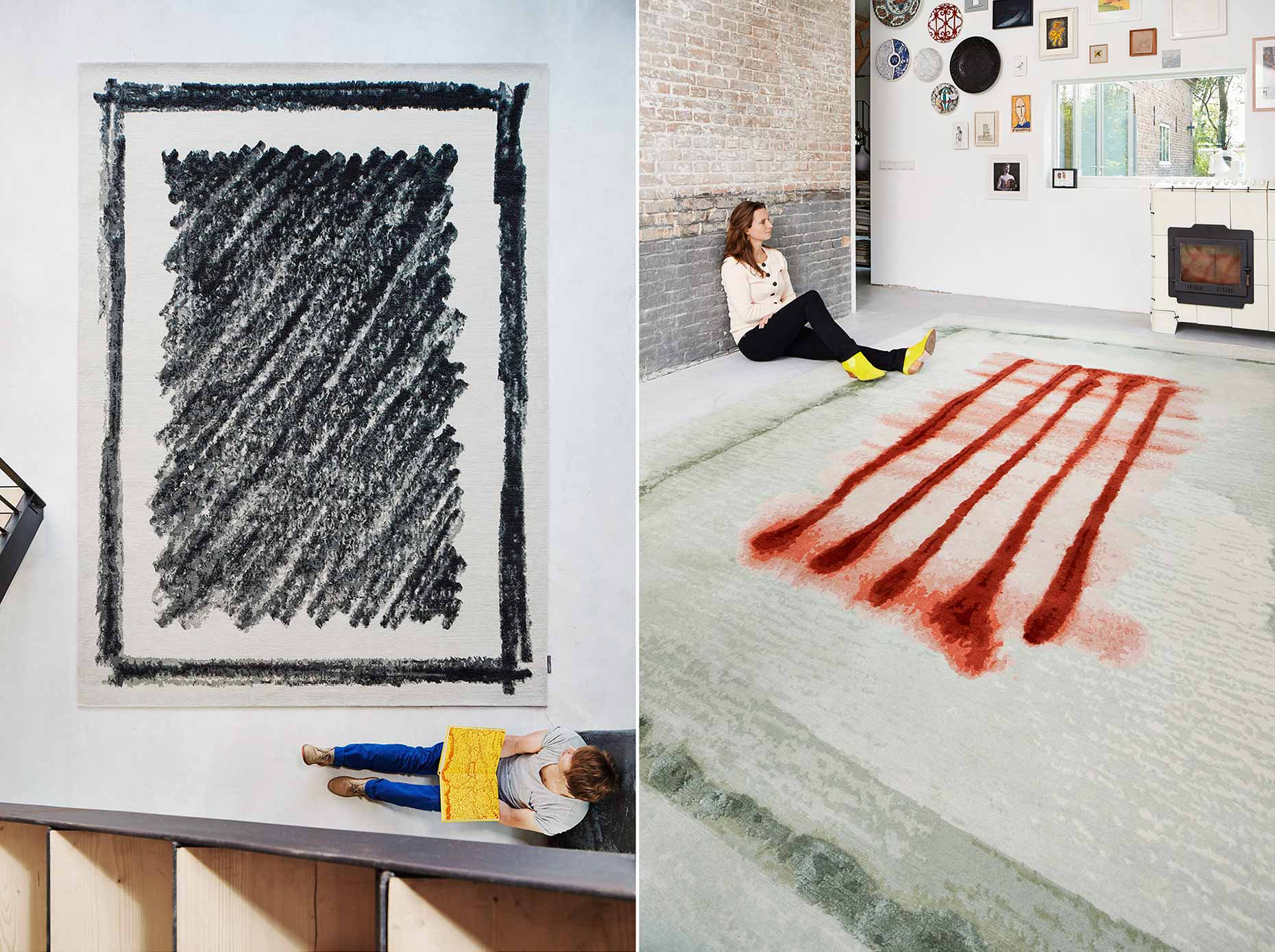 Dutch designers Kiki van Eijk and Joost van Bleiswijk for Ice international carpets