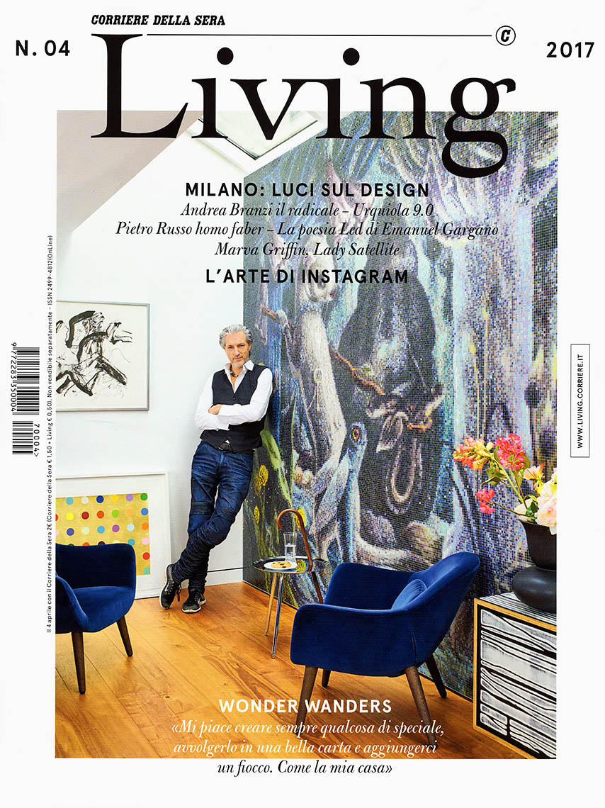 Marcel Wanders cover Living magazine