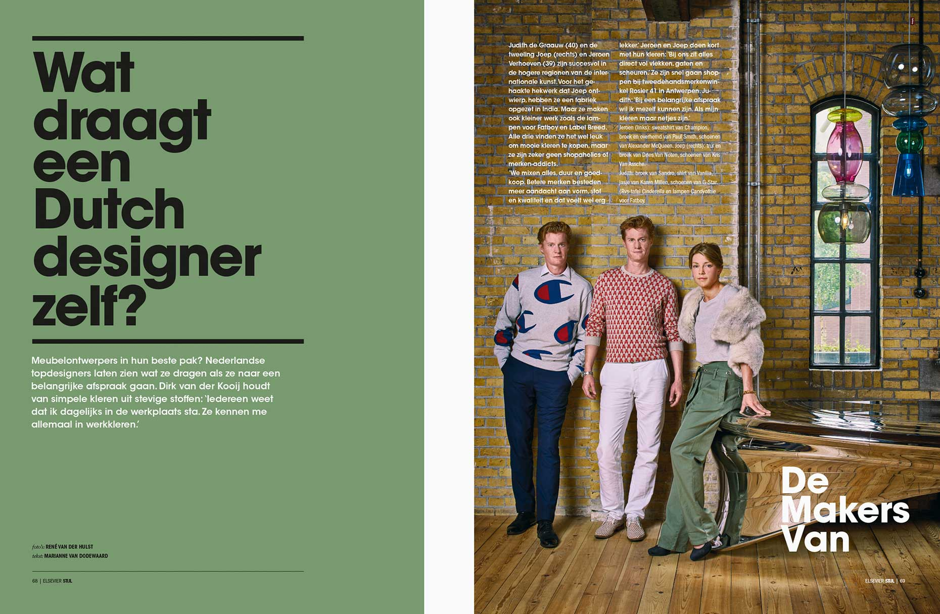 Dressed Dutch Designers De Makers Van Elsevier magazine