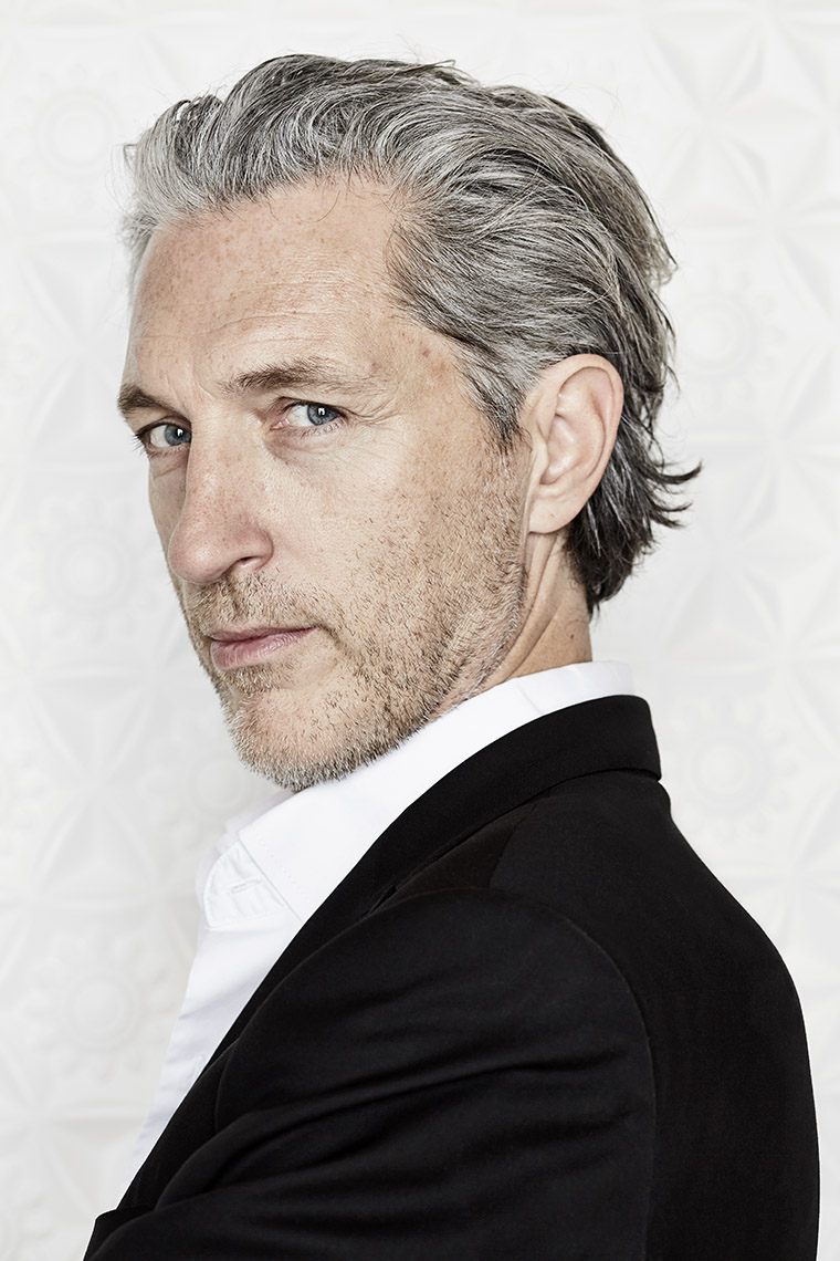 Portret of dutch designer Marcel Wanders in the Stedelijk Museum, Amsterdam